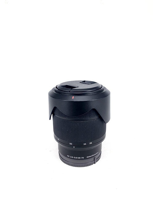 *SOLD* Sony 28-70mm f3.5-5.6 OSS FE Mount (used)