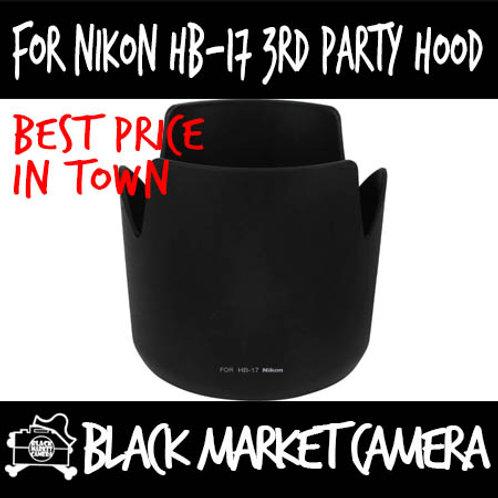 For Nikon HB-17 Third Party Lens Hood