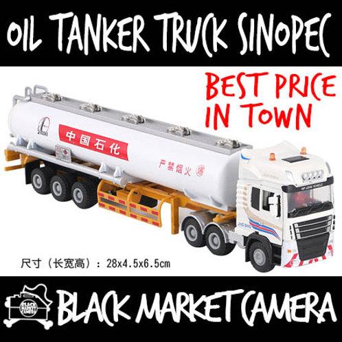 JB 1:50 Oil Tanker Truck Sinopec Diecast Model