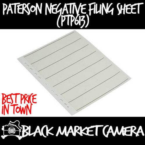 Paterson 35mm Negative Filing Sheets (Pack of 25) (PTP613)