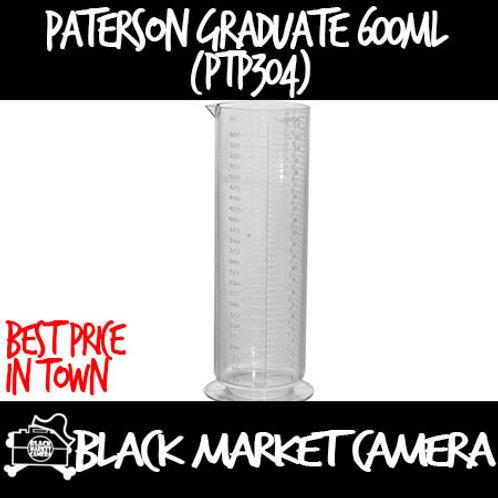 Paterson Plastic Graduate 600ml (PTP304)