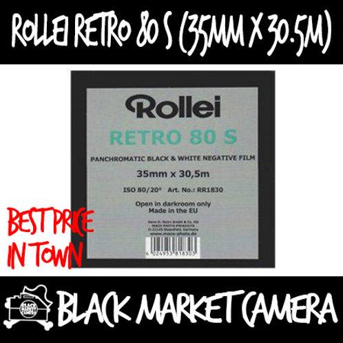 Rollei Retro 80 S (35mm x 30.5m) Panchromatic Black & White Negative Film