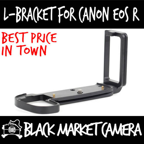 L-Bracket Quick Release Plate for Canon EOS R