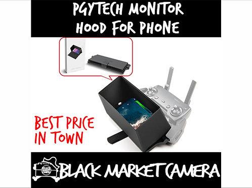 PGYTECH Monitor Hood - Full-Screen Cell Phone Lens Hood Sunshade for DJI Mavic