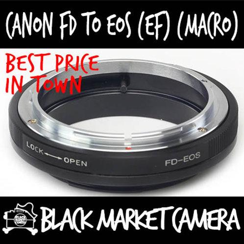 Canon FD to Canon EOS (MACRO Only) Lens Adapter