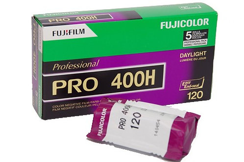 FujiFilm Pro 400H Colour Negative Film (120)