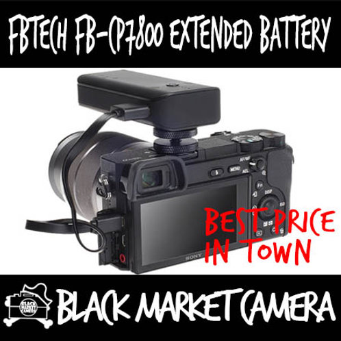 FBTech FB-CP7800 Extended Battery for Camera Power Supply for Sony (Micro USB)