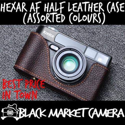 Funper Hexar AF Leather Half Case