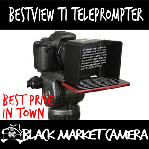 Bestview T1 Small Portable Smartphone Teleprompter