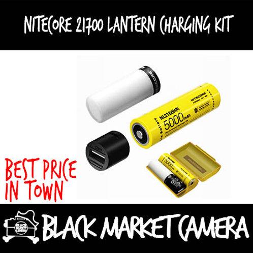 Nitecore 21700 Lantern Battery + Charging Kit