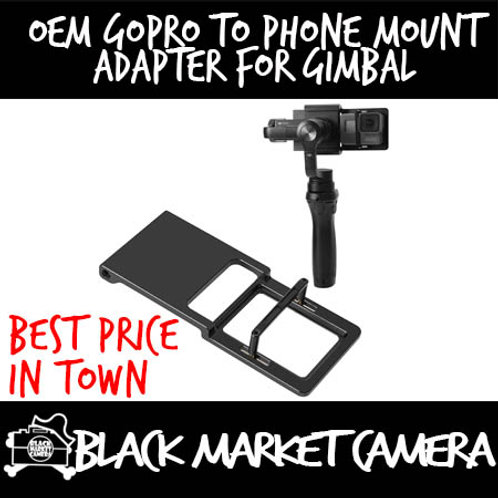 OEM GoPro to Phone Mount Adapter for Gimbal