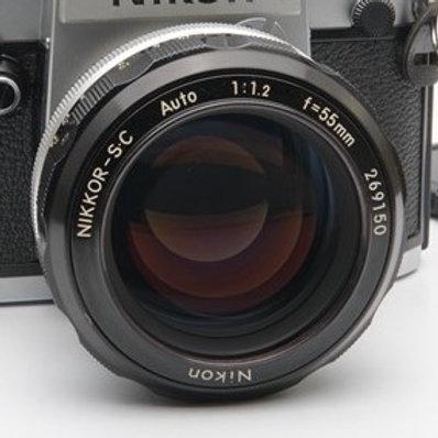 Nikon 55mm F1.2 Auto SC Ai (used)