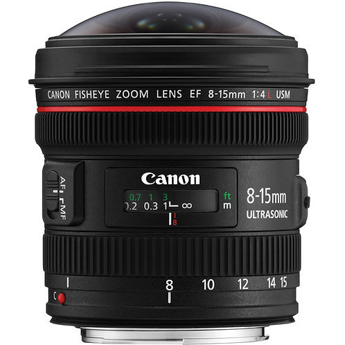 Canon 8-15mm F4L Fisheye USM