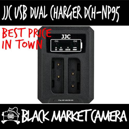 JJC DCH-NP95 USB Charger for Fujifilm NP-95/Ricoh DB-90