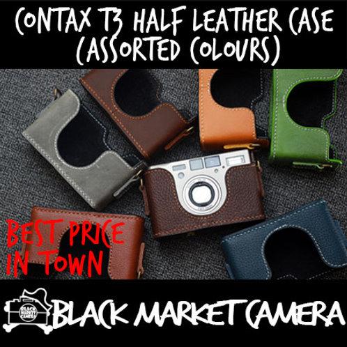 Funper Contax T3 Half Leather Case