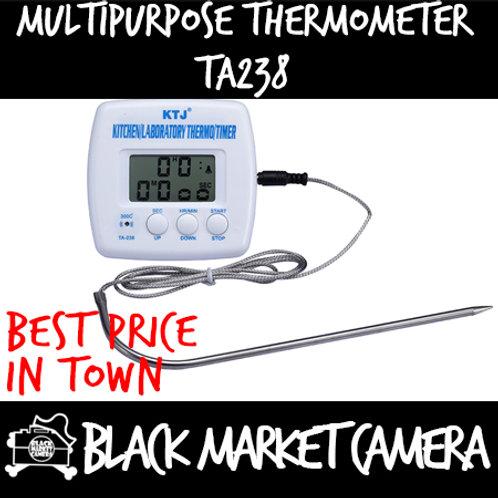 Kitchen / Laboratory Thermometer / Timer [TA238]