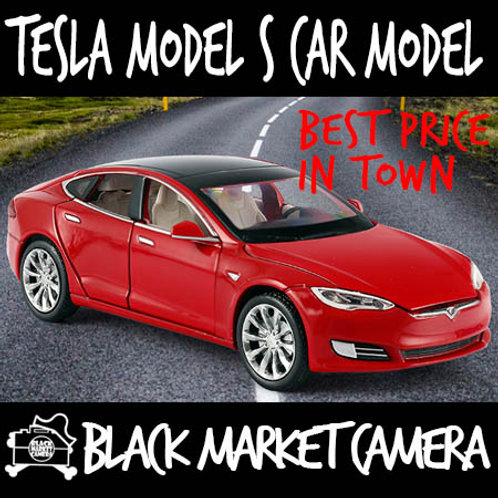 JackieKim 1:32 Tesla Model S Diecast Car Model