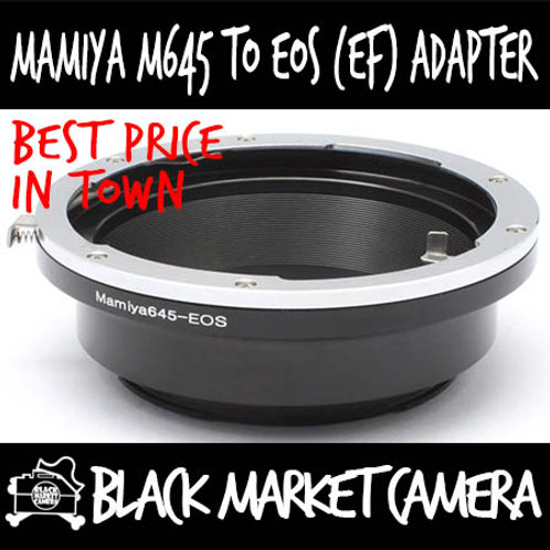 Mamiya 645 to Canon EOS Lens Adapter