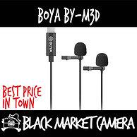 Boya BY-M3D Dual Lavalier Microphone