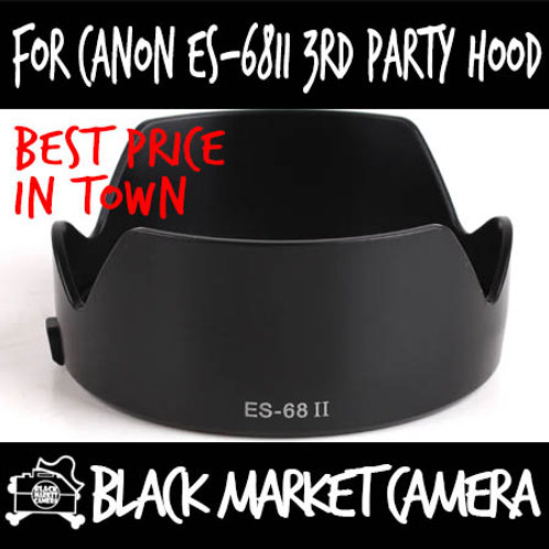 For Canon ES-68II 3rd Party Lens Hood