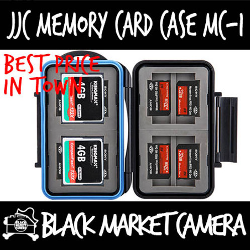 JJC MC-1 Memory Card Case (4CF 8MSPD)