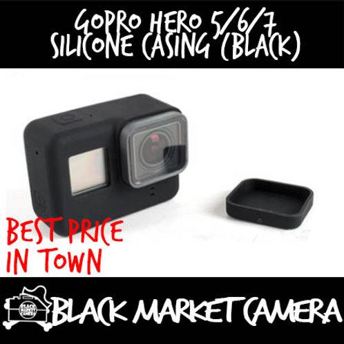 GoPro Hero 5/6/7 Silicone Casing (Black)