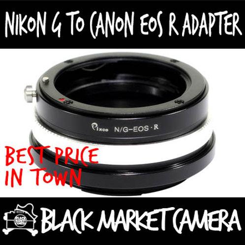 Nikon G to EOS R Mount Lens Adapter