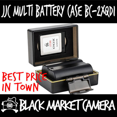 JJC BC-2XQD1 Multi-Function Battery Case (XQD)