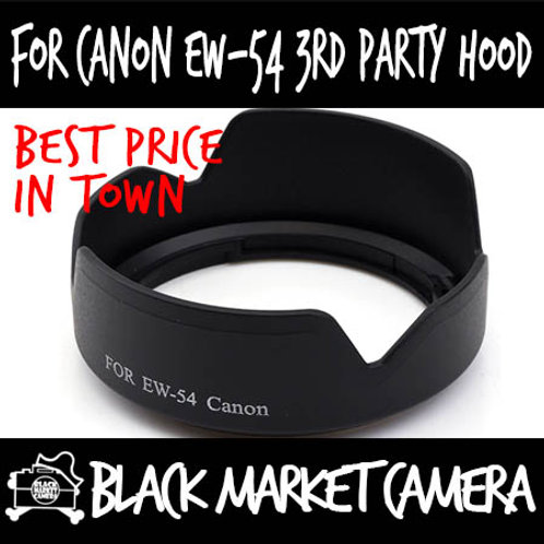 For Canon EW-54 3rd Party Lens Hood