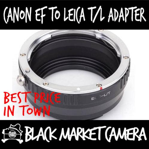 Canon EF Lens to L Mount Leica/Sigma/Panasonic Body