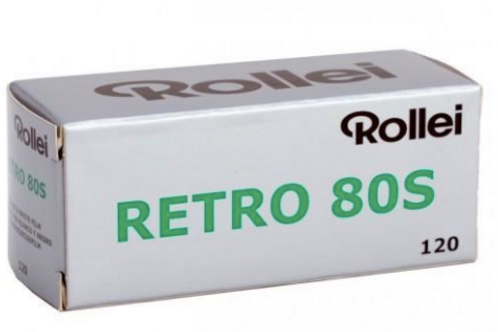 Rollei Retro 80S Black & White Film (120mm)