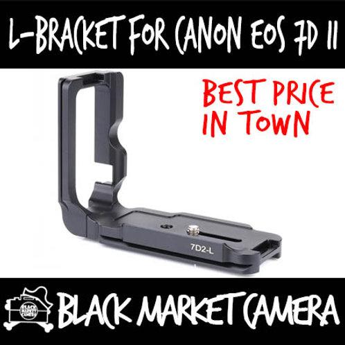 Canon EOS 7D Mark II L-Bracket Quick Release Plate