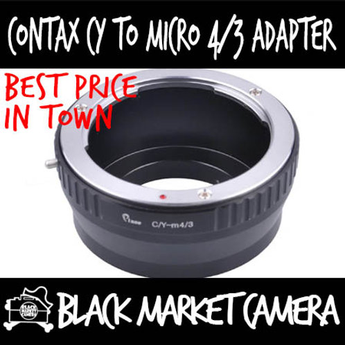 Contax CY Lens to Micro 4/3 Body Adapter