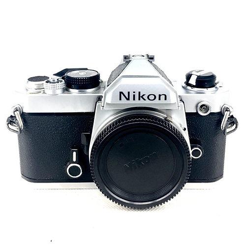 Nikon FM Film SLR (Silver/Black) (used)
