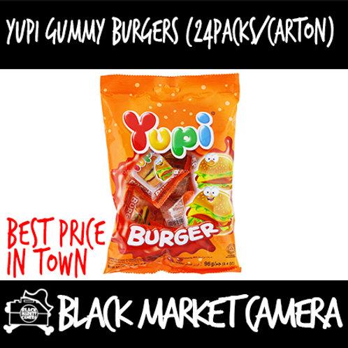 Yupi Burger Gummy Candy (24 Packs/Carton)