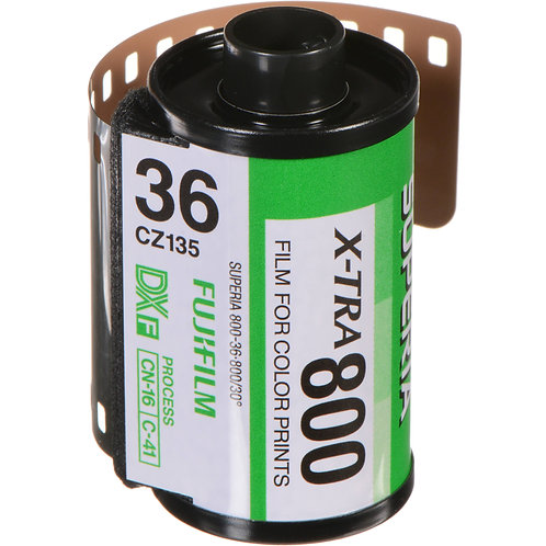 Fujifilm Superia X-Tra 800 36 Exp Colour Negative Film (135)