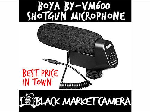 BY-VM600 Shotgun Microphone