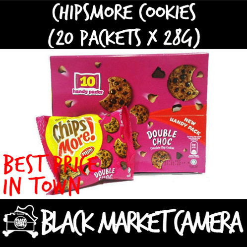 Chipsmore Cookies (Bulk Quantity, 20 Packets x 28g)