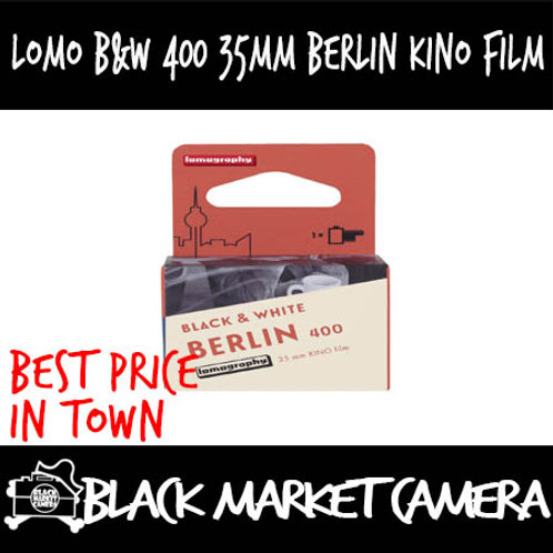 Lomography B&W 400 35mm Berlin Kino film/100 35mm Potsdam Kino film
