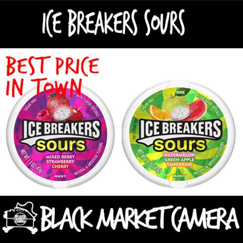 Ice breaker Sour [BULK QUANTITY 2 sets of 8] [SNACKS] [CANDY]