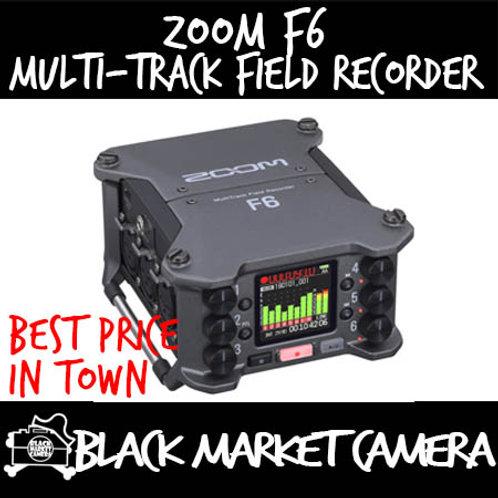 Zoom F6 Multi-Track Field Recorder