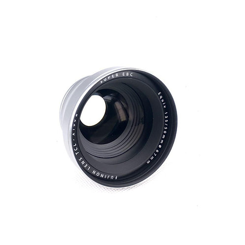 Fujifilm X100 Tele Conversion Lens TCL-X100 Silver