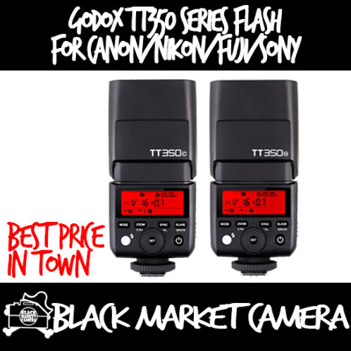 GODOX TT350 SERIES | Camera Flash | FUJIFILM | SONY | NIKON | CANON