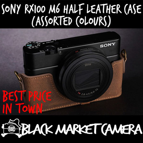 TP Original Sony RX100 M6 Half Leather Case