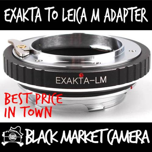 Exakta Lens to Leica M Body Adapter