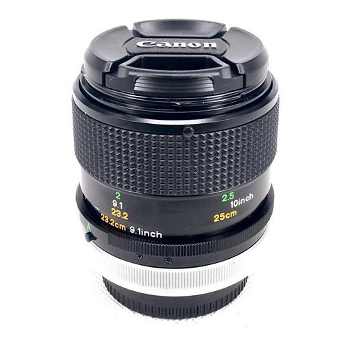 Canon FD 50mm F3.5 Macro SSC (used)