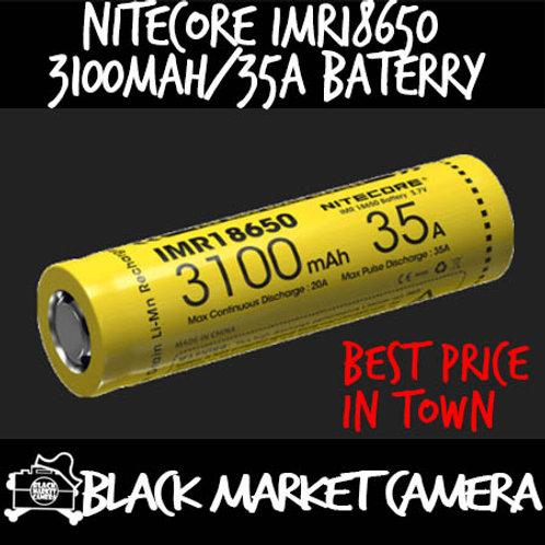 Nitecore IMR18650 3100mAh/35A High Drain Battery