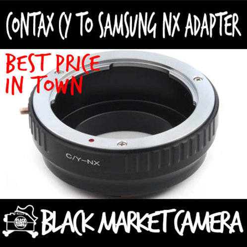 Contax CY Lens to Samsung NX Body Adapter
