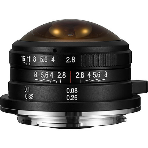 Venus Optics Laowa 4mm F2.8 Fisheye Lens for Micro Four Thirds