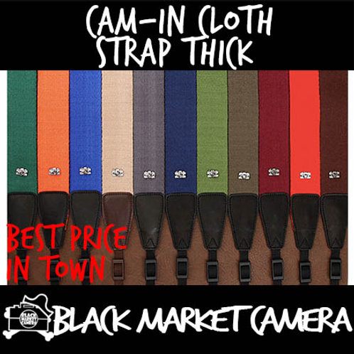 Cam-in Cloth Strap Thick